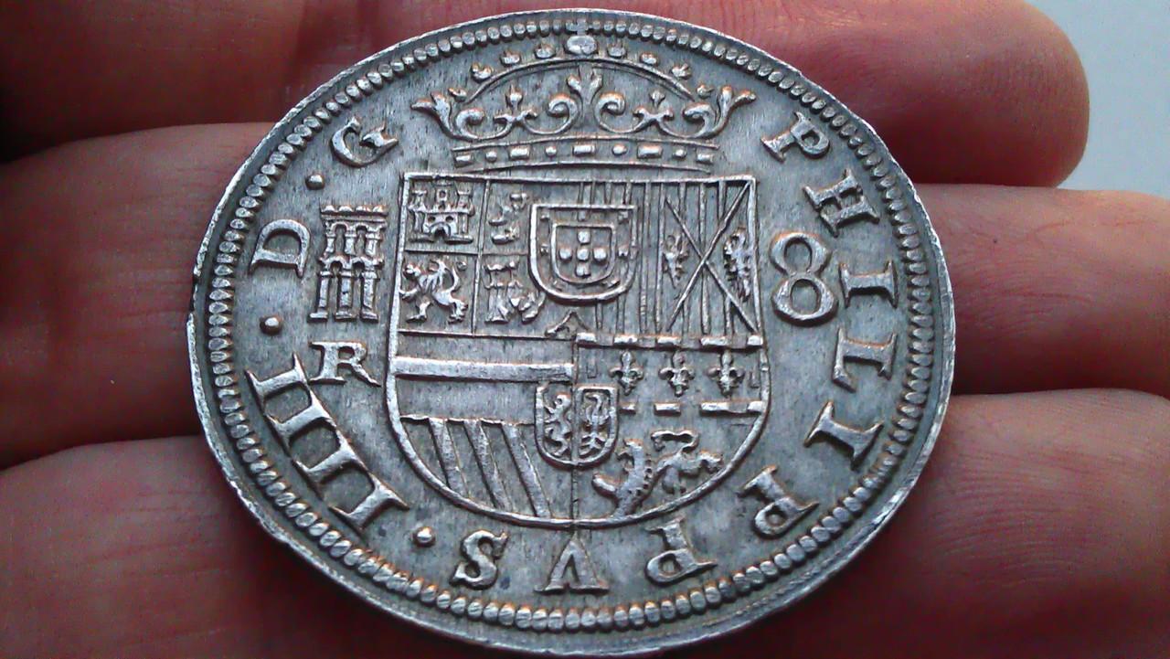 8 reales 1633. Felipe IV. Real Ingenio de Segovia. IMAG1234
