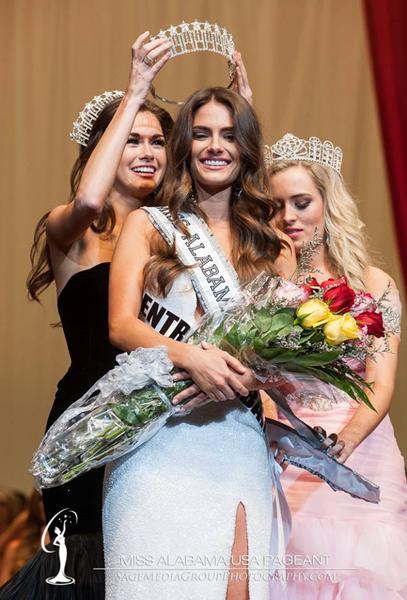 Jesica Ahlberg (ALABAMA 2014) Crowning