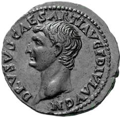 Glosario de monedas romanas. DRUSO (hijo de Tiberio). Image