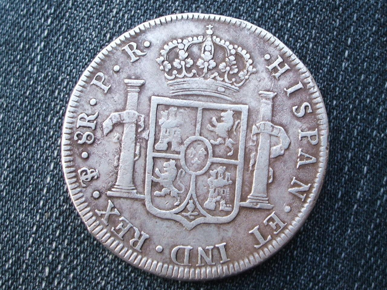 8 Reales 1795 Carlos IIII,  Potosi- PR 018_3