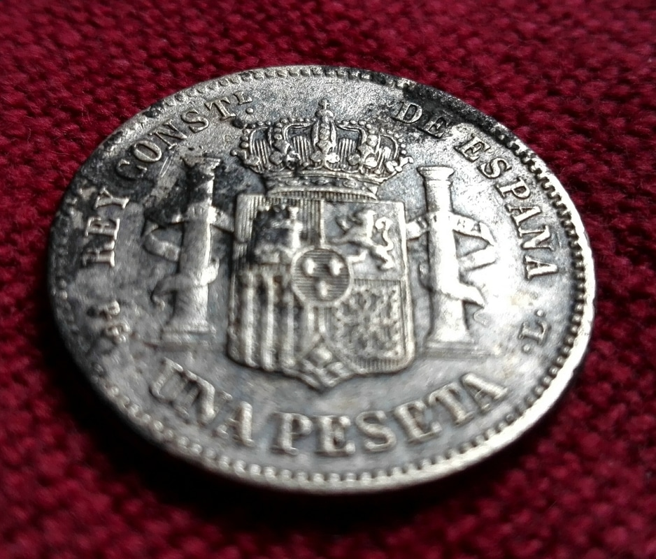 1 peseta 1893. Alfonso XIII IMG_20170325_151916