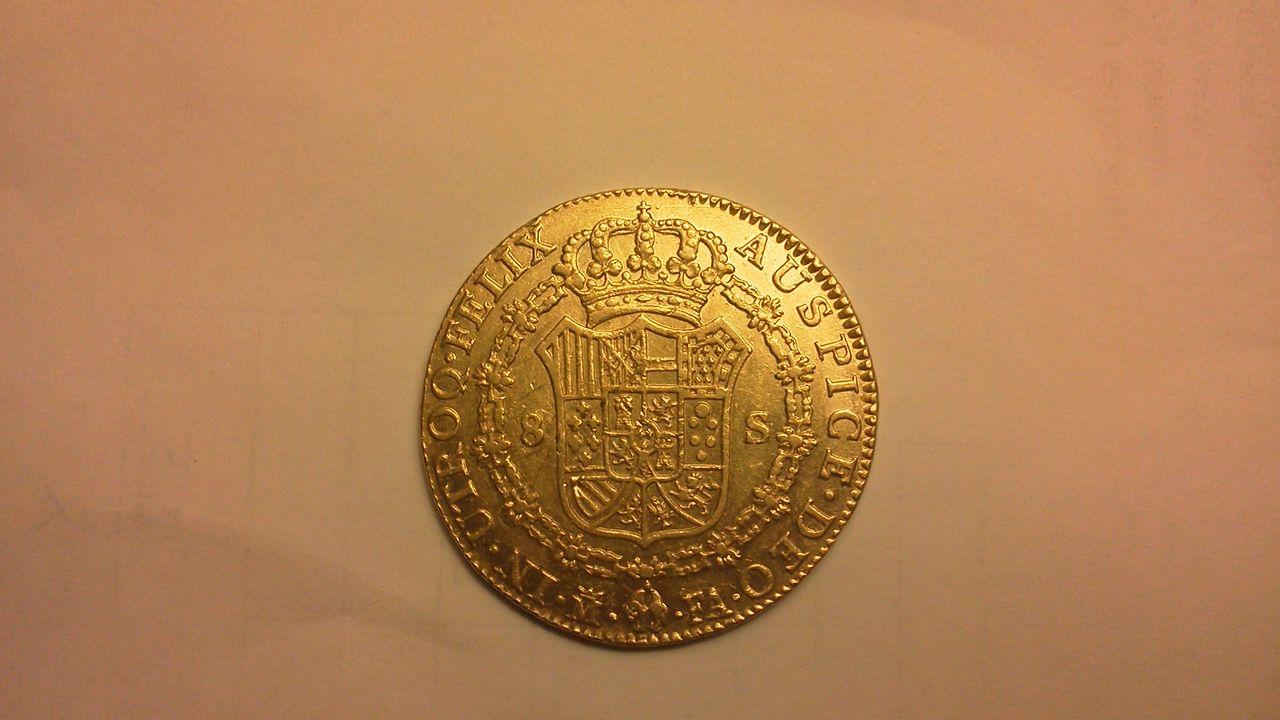 8 escudos 1802 Carlos III Madrid - FA. IMG_20131108_223833