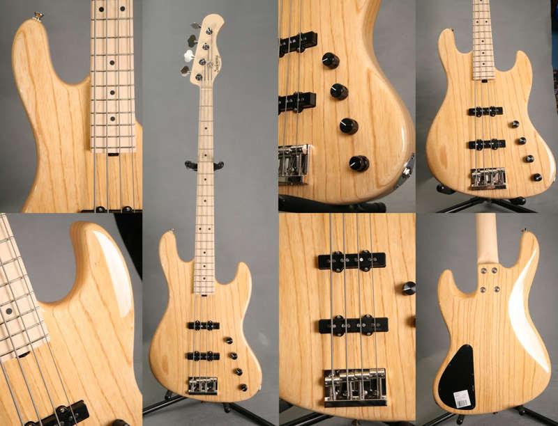 Projeto Jazz Bass 5 cordas M. Laghus Sadowsky_MS4_nat