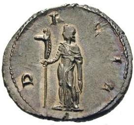 Glosario de monedas romanas. DRACO. Image