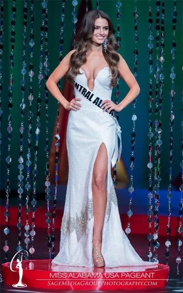 Jesica Ahlberg (ALABAMA 2014) Gown