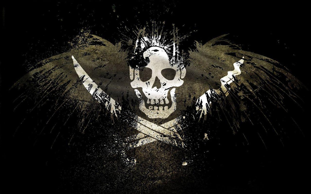 DRONE MQ-1A/B PREDATOR Pirate_Flag_Wallpaper_1680x1050