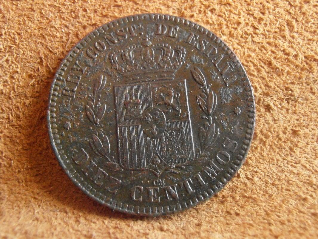 10 céntimos 1878. Alfonso XII P3190011