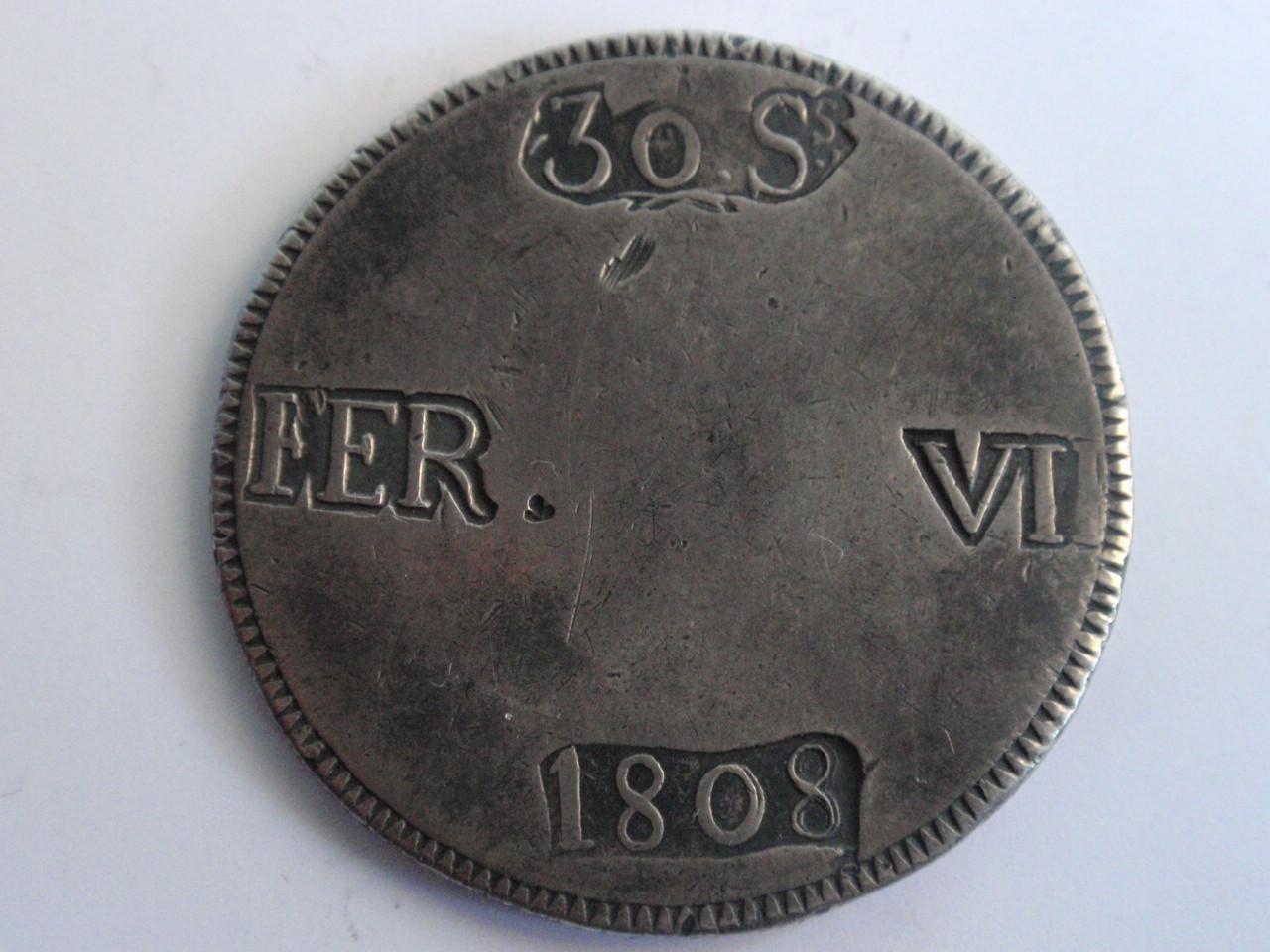 Pasarela de moda numismática Fernandina en Palma: Crónica. 8reales_003
