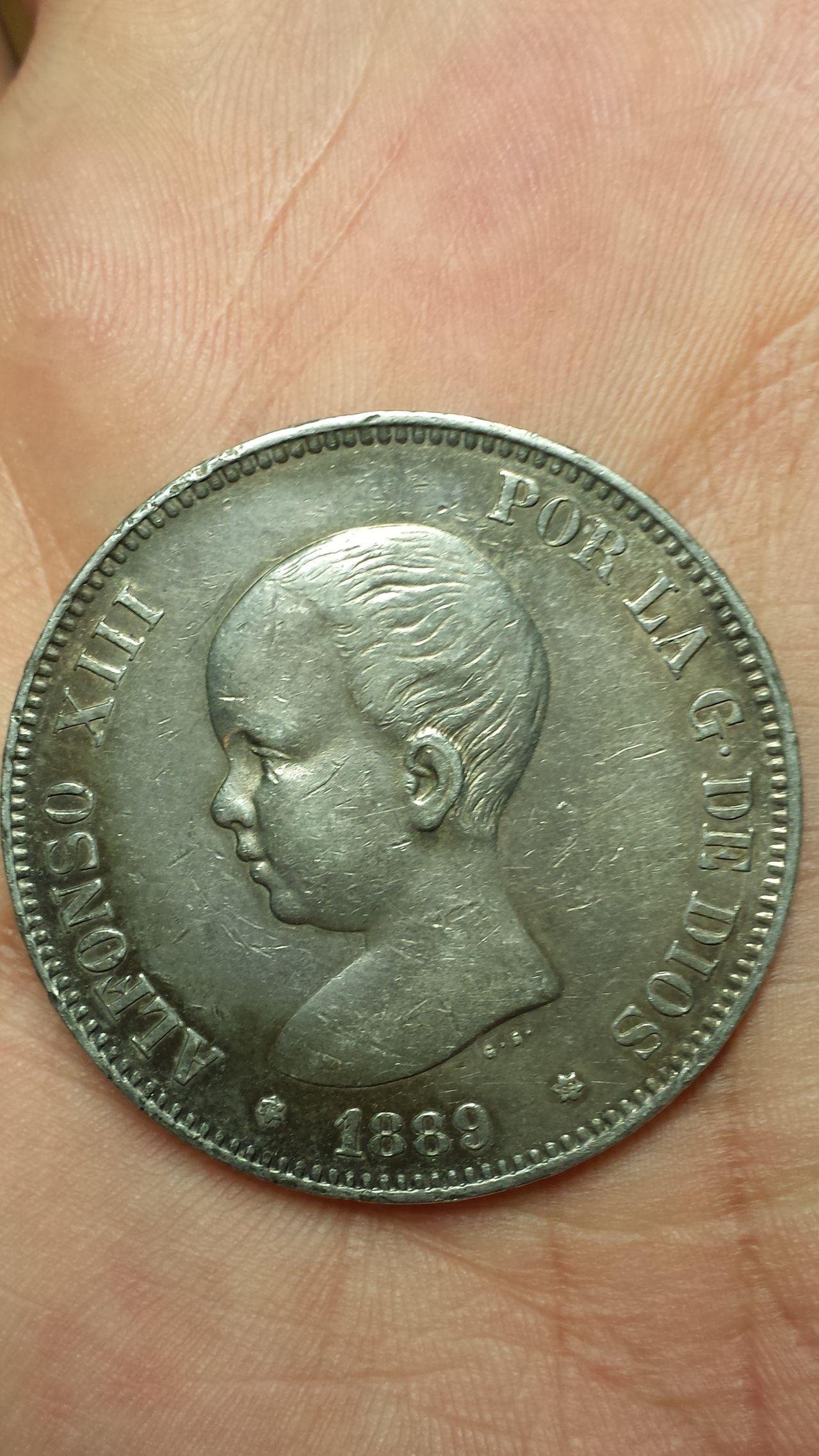 5 pesetas Alfonso XIII 1889 5pesetas_1889_a