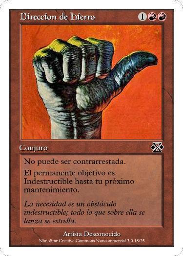 Cartas Magic Direccion_de_Hierro