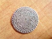 Tibet, Tangka de plata P1400085