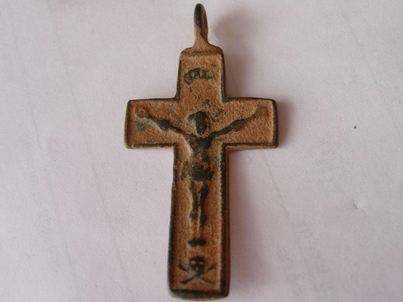 Crucifíjo bifaz arma christi, S-XVIII Imagen_074