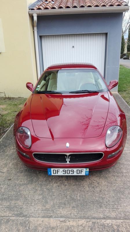 [VENDUE] Maserati 4200 GT boîte manuelle Rosso bologna IMG_20180304_121050