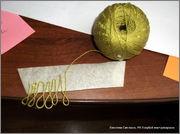 Скрапбукинг. Голубой мак, карандашница или декорваза для сухоцветов. 1_DSCF1927