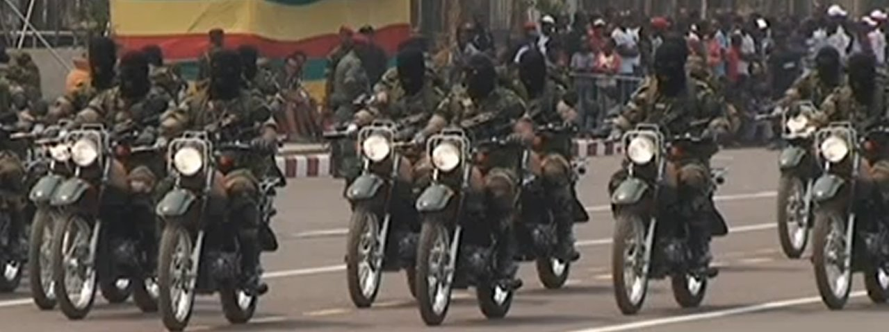 Armée Congolaise / Armed Forces of the Congo-Brazzaville Motor