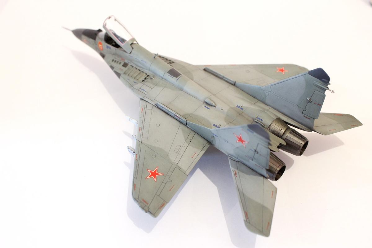 Миг-29 Звезда /italeri  1/72 IMG_2241