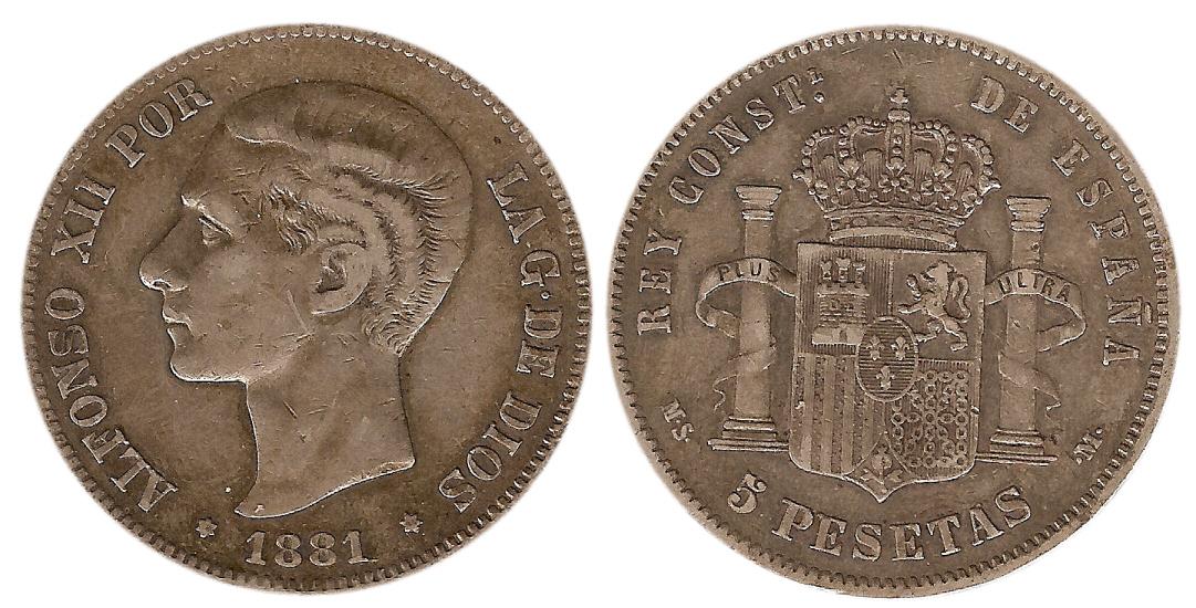 5 PTS Alfonso XII, 1881 5_pesetas_1881