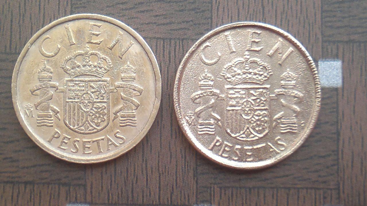100 pesetas 1986 ¿ cuño muy flojo , color raro y canto casi liso ? 2014_08_01_4298