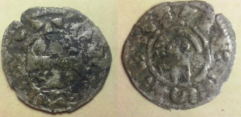 "Dinero ""Bienpeinao"" de Alfonso VIII de Castilla  1158-1212 Toledo. Dinnn"