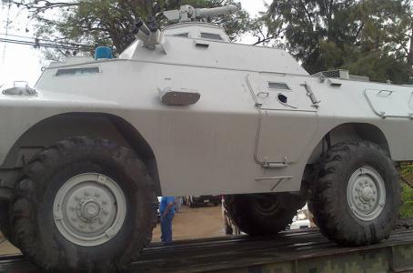 Guerrero - Vehiculos militares llegan a Guerrero para garantizar la eleccion - vehiculos sin matricula? BLINDADOLANZAAGUASEDENA