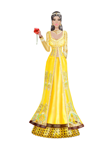 Disney Princesses as Indian Brides--- Belle Be_Her_Guest