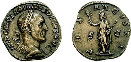 Sestercio de Marco Aurelio RIC_0125a