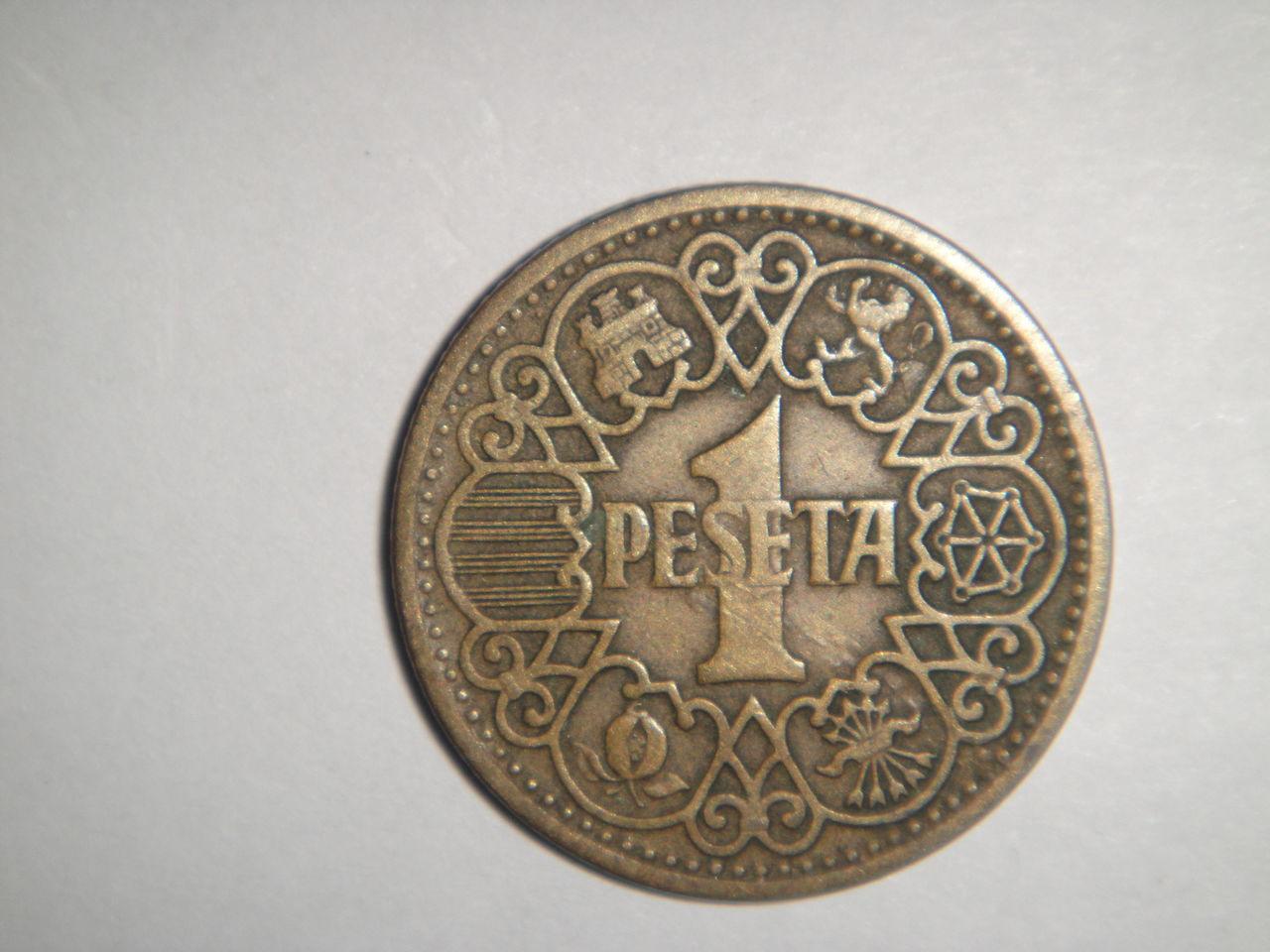 1 peseta 1944. Estado Español. DSC02728