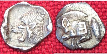 Óbolo de Kyzikos (480-450 a. C.)  Image