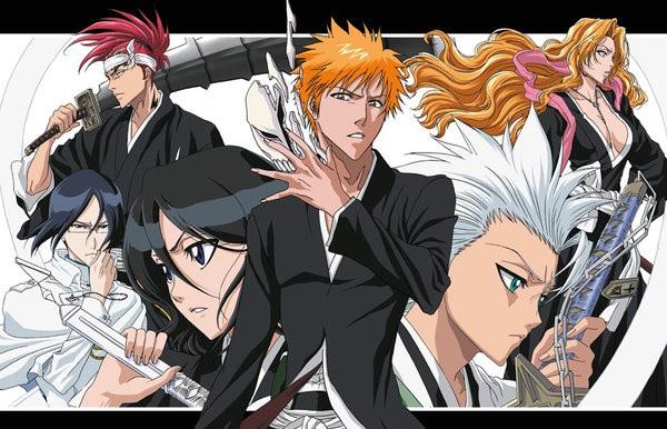 [7 Animes Indispensáveis] - Shounen Jump Bleach_Poster