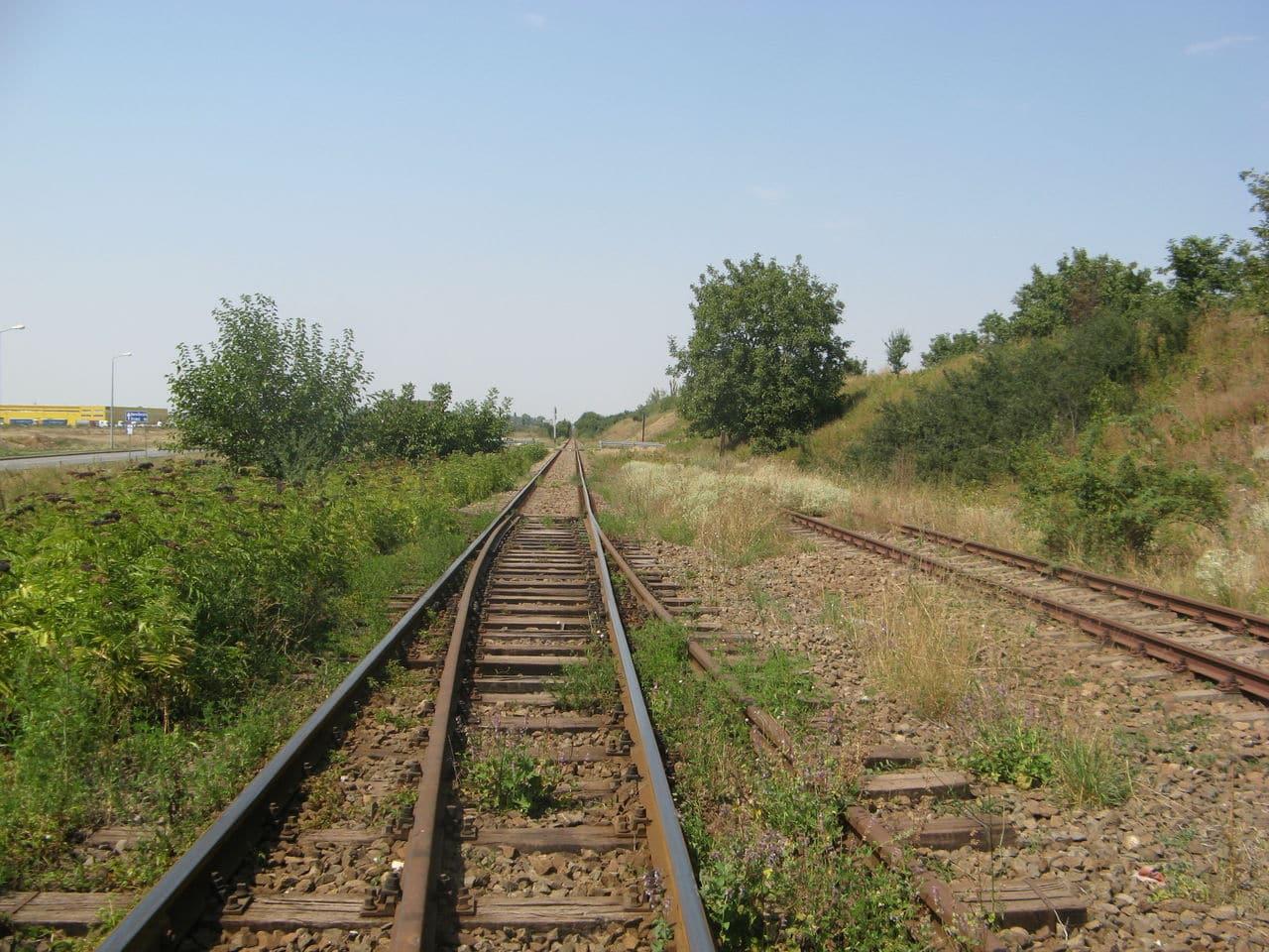 Calea ferată directă Oradea Vest - Episcopia Bihor IMG_0056