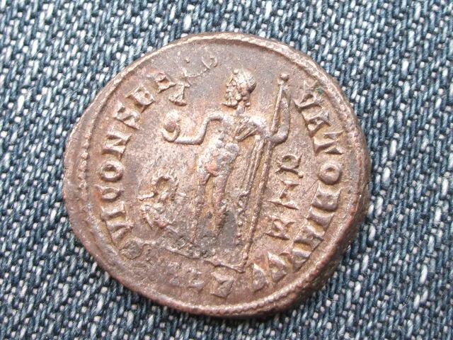 Nummus/Follis de Licinio I - IOVI CONSERVATORI AVGG - Alejandria 033