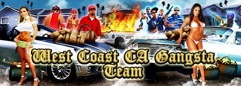 WESTCOAST CA GANGSTA TEAM