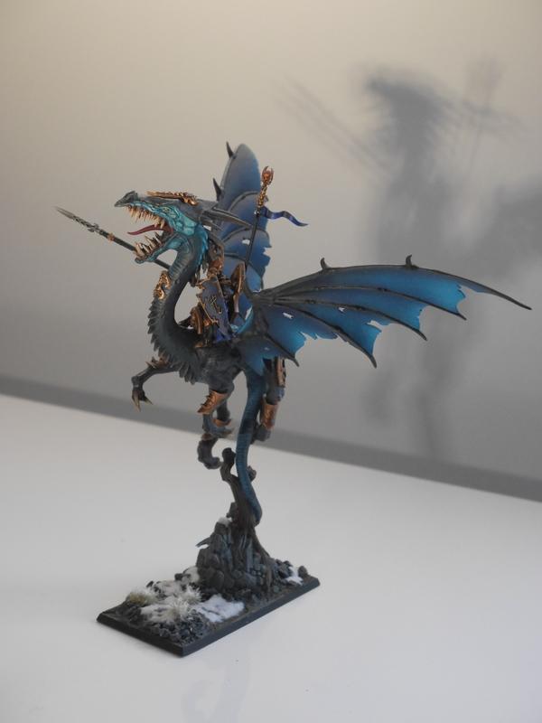 Peintures d'elfes noirs Dragon