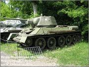 Советский средний танк Т-34, музей Polskiej Techniki Wojskowej - Fort IX Czerniakowski, Warszawa, Polska 34_001