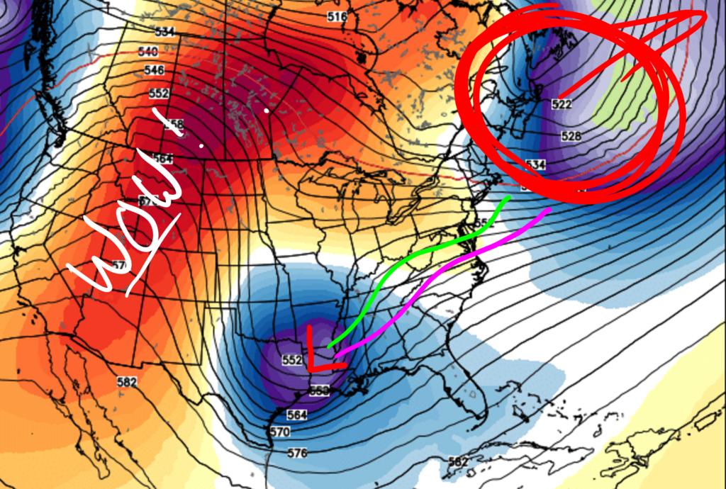 01/22/16 - 01/23/16 Update #3 - Will Models Trend Back North? 12z_euro_update_3