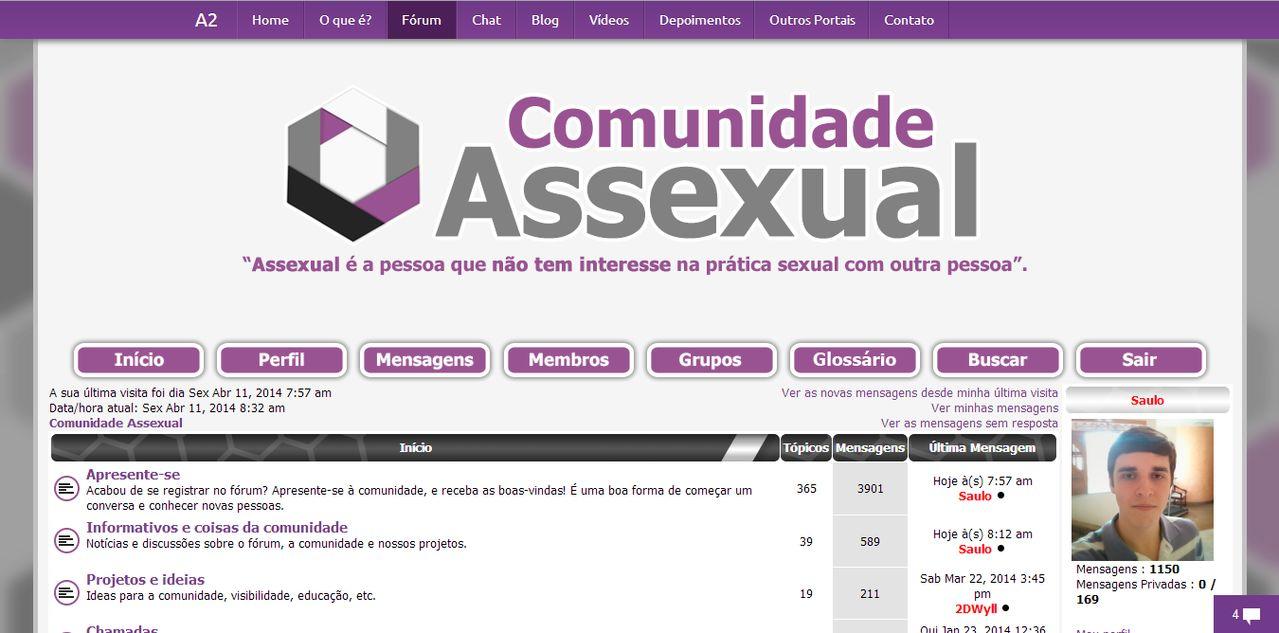 História da Comunidade Assexual Image