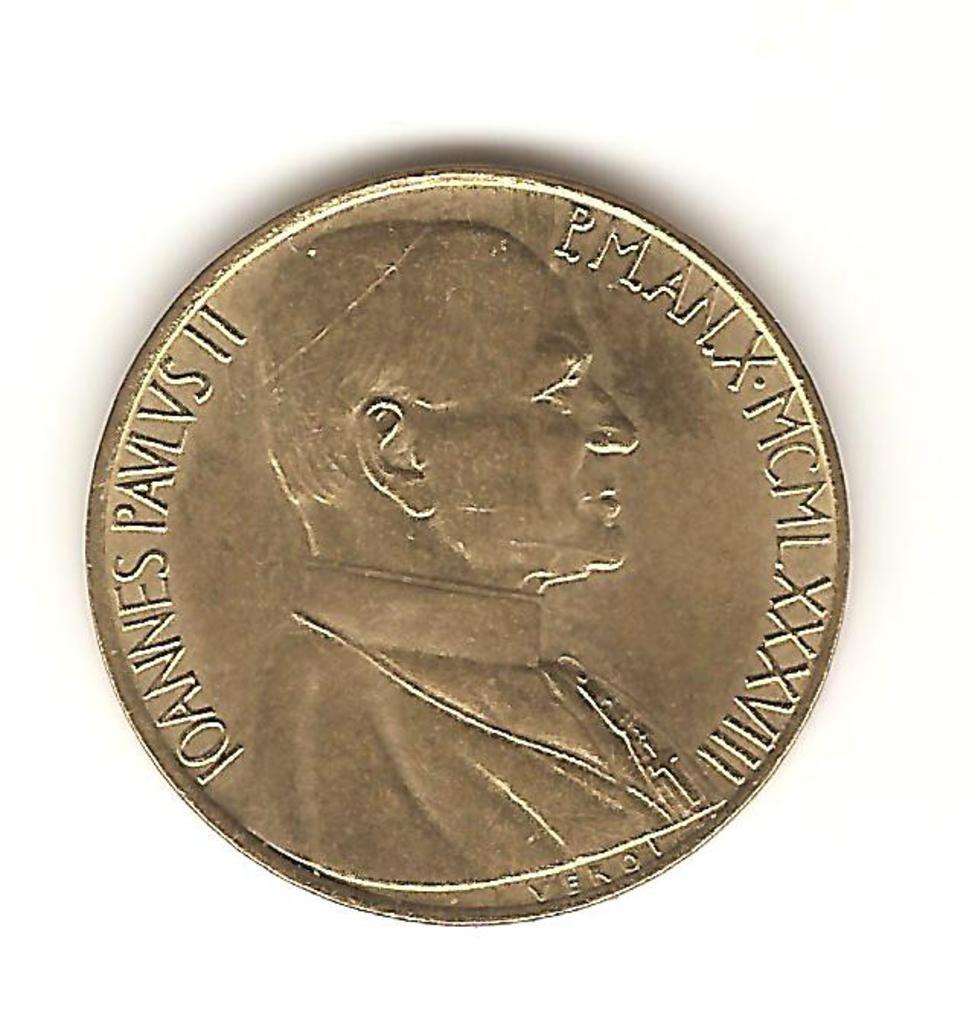 20 liras El Vaticano 1988 Image
