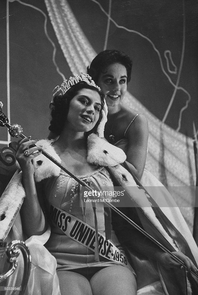 gladys zender, miss universe 1957. primera latina a vencer este concurso. Image