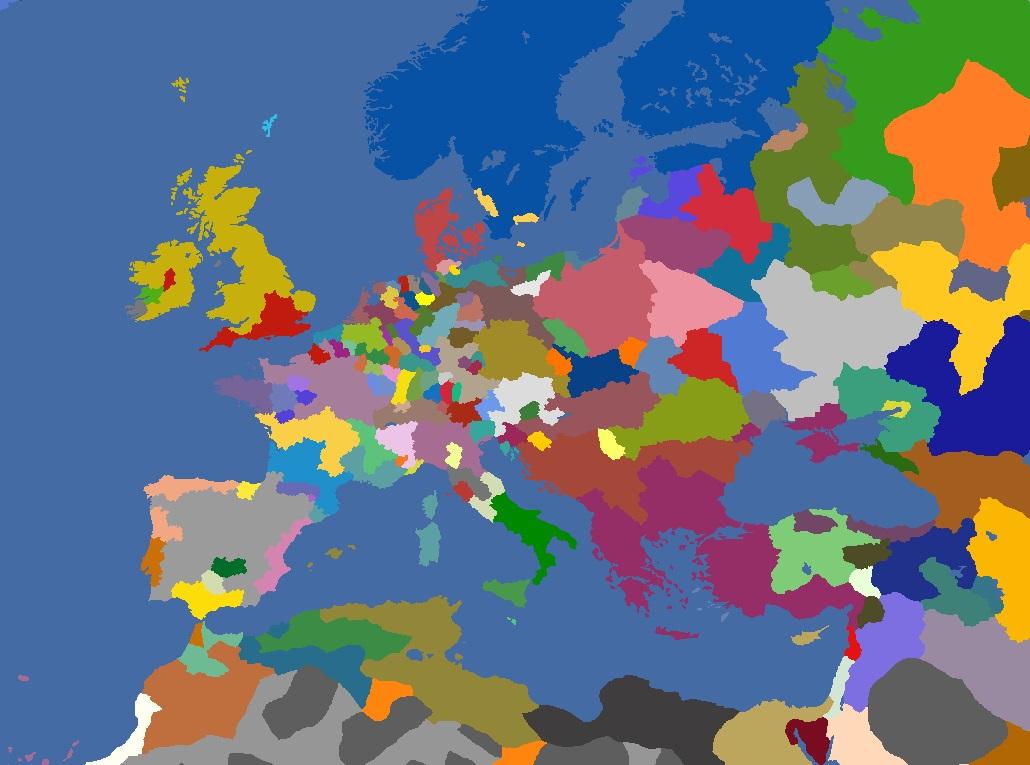 "MP-""Europa Divisa"" 1557"