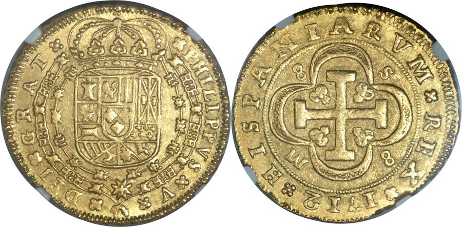 HERITAGE.Moneda Española 882640l