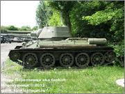 Советский средний танк Т-34, музей Polskiej Techniki Wojskowej - Fort IX Czerniakowski, Warszawa, Polska 34_002