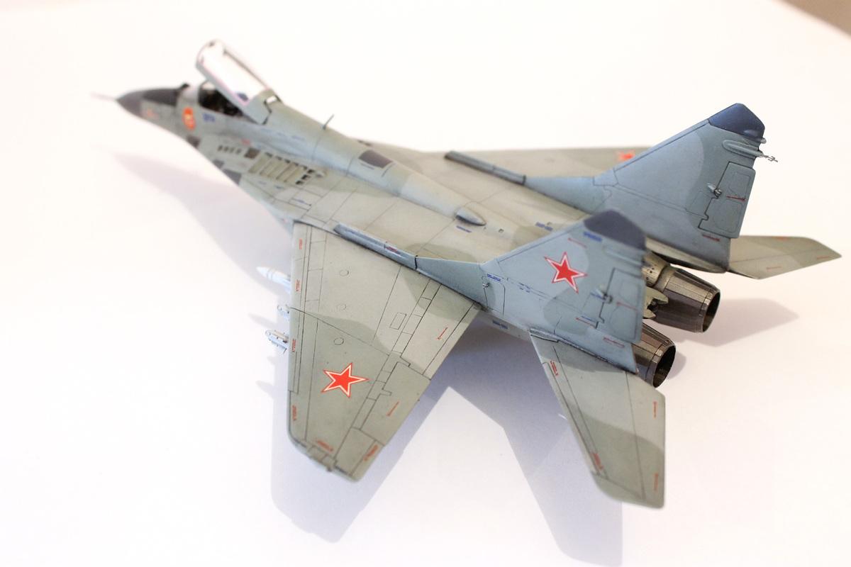 Миг-29 Звезда /italeri  1/72 IMG_2240