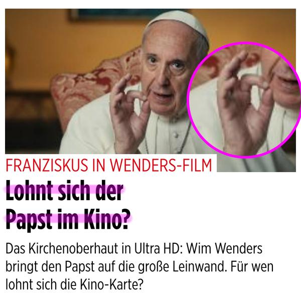 666 – Sechshundertsechsundsechzig – Waw Waw Waw - Seite 2 Franziskus_kino