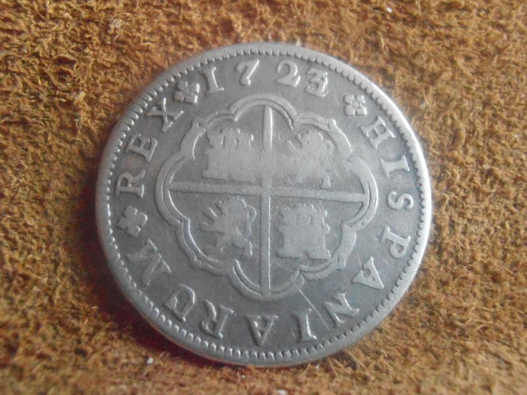 2 reales 1723/22. Felipe V. Segovia P9018612