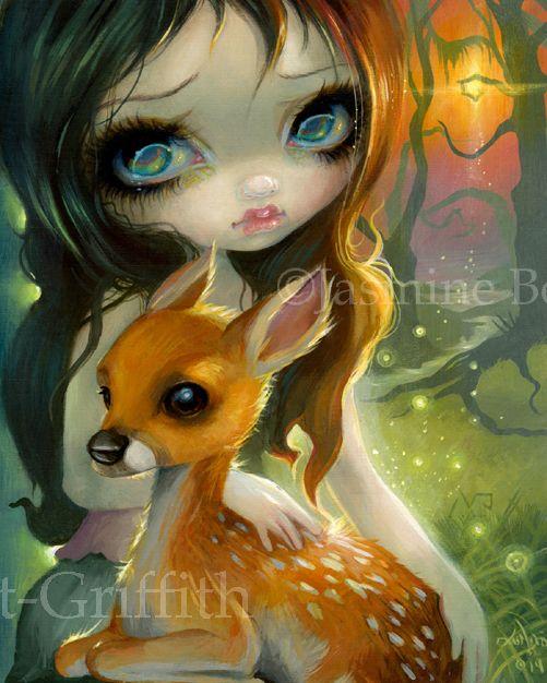 : Las muñequitas de Jasmine Becket-Griffith: 18feac89b17b80a200578563b8b002c5