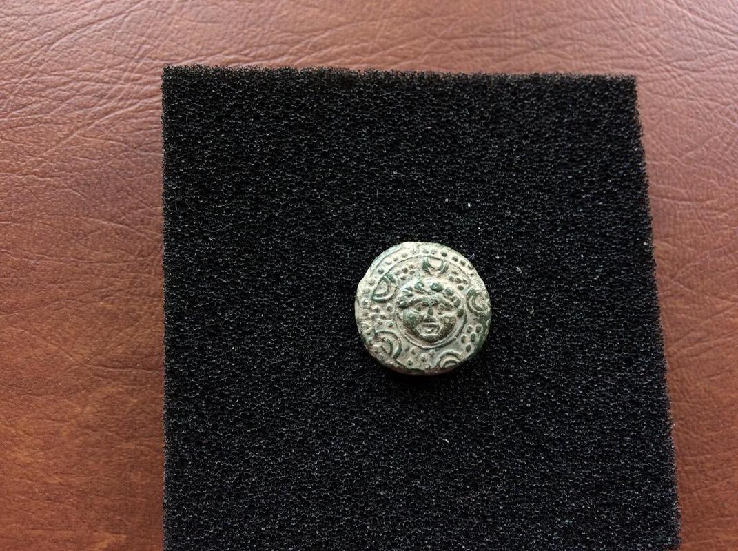 Reyes de Macedonia Philip III Arrhidaios Æ 1/2 Salamis IMG_4982
