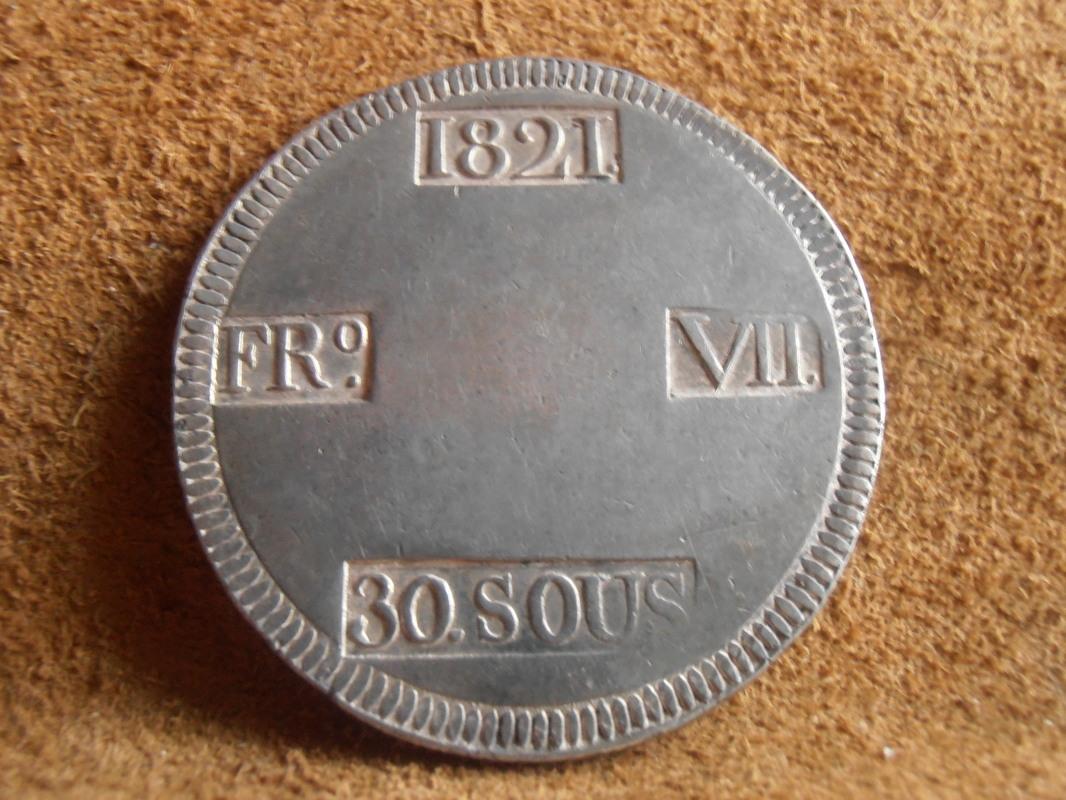 30 Sous 1821. Fernando VII. Palma de Mallorca P5310001