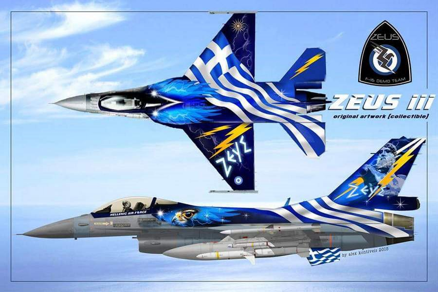 F-16 Ζεύς demo Zeus_artwork