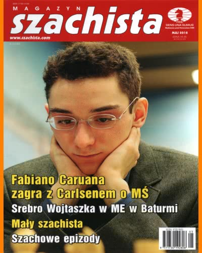 CHESS PERIODICALS :: Magazyn SZACHISTA (Polish Chess Monthly Magazine) Ms_2018-05