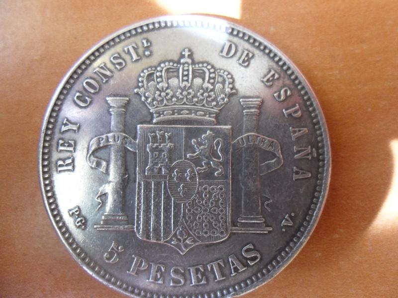 5 pesetas de 1893 004